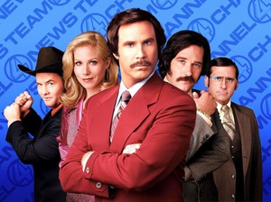Film promo picture: Anchorman: The Legend Of Ron Burgundy