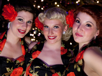 Swingin' At The Pavilion: Amanda Whiting + The Siren Sisters + Keith Little Band picture