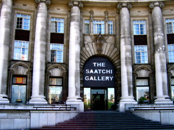 The Saatchi Gallery venue photo