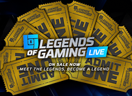 Legends Of Gaming Live: Save 15% on tickets