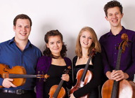 Cassia String Quartet artist photo