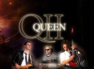 QUEEN II live on stage + 70s & 80s Disco artist photo