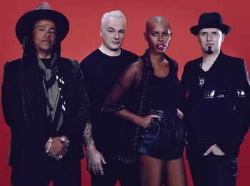 Skunk Anansie + Beware Of Darkness picture