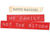 My Family: Not The Sitcom: David Baddiel artist photo