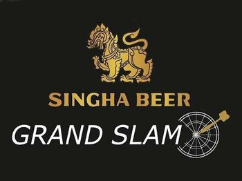 SINGHA Beer Grand Slam of Darts artist photo