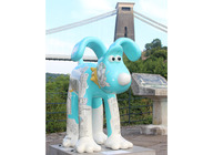 Gromit Unleashed Exhibition artist photo