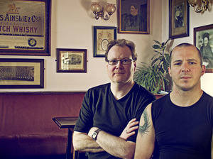 Mike Wilson & Damien Barber artist photo