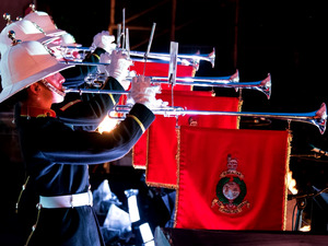 Seafarers UK Royal Marines Band artist photo
