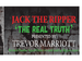 Jack the Ripper - The Real Truth: Trevor Marriott event picture
