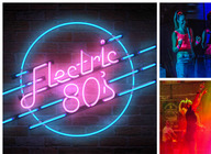 Electric 80's artist photo