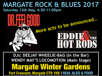 Margate Rock Blues 2017 Tickets Margate Winter Gardens Margate