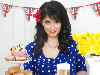 Shappi Khorsandi, Doc Brown picture