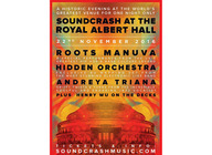 Soundcrash: Roots Manuva + Hidden Orchestra + Andreya Triana + Henry Wu artist photo