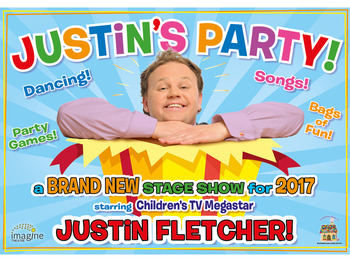 Justin's Party!: Justin Fletcher MBE picture