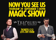 Now You See Us Magic Show artist photo