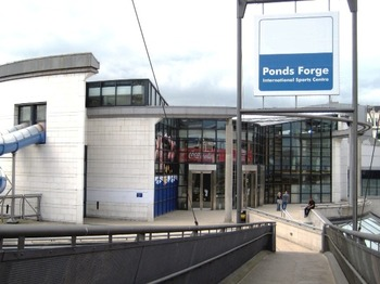 Ponds Forge International Sports Centre venue photo