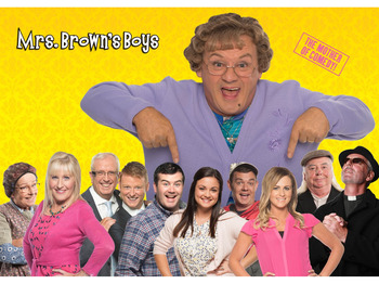 how to get tickets for mrs brown tv show