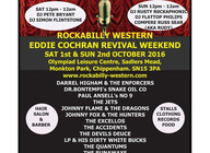 Eddie Cochran Revival Weekender artist photo
