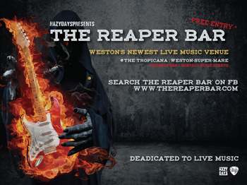 The Reaper Bar Weston Super Mare Upcoming Events Tickets 2017