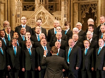 Peterborough Male Voice Choir + Grimethorpe Colliery Band picture