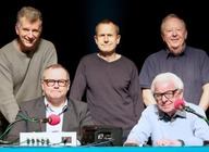 I'm Sorry I Haven't A Clue (Touring), Barry Cryer, Tony Hawks, Tim Brooke-Taylor, Jeremy Hardy, Jack Dee, Colin Sell artist photo