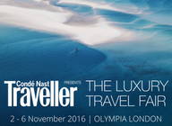 The Luxury Travel Fair: 2 for 1 tickets!