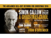 Simon Callow to appear in A Christmas Carol at Arts Theatre, London in December