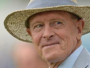 Sir Geoffrey Boycott artist photo