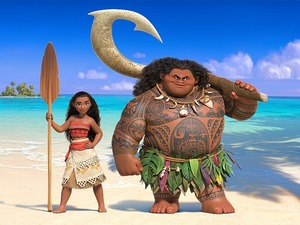 Film promo picture: Moana