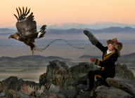 The Eagle Huntress artist photo