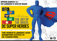 The Art Of The Brick: DC Super Heroes artist photo