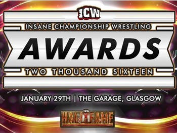 Icw awards tickets the garage glasgow for The garage glasgow