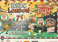 HSBC London Sevens 'Feast of Rugby' artist photo