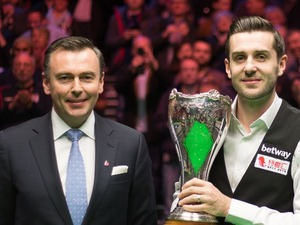 UK Championship Snooker artist photo
