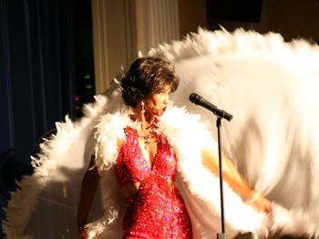 Shirley Bassey Tribute artist photo