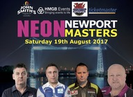 Newport Darts Masters artist photo