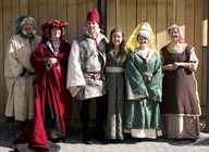 Dronfield Hall Barn Medieval Festival artist photo