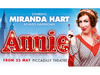 Annie - The Musical ft. Miranda Hart PRESALE tickets available now