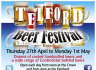 Telford Beer Festival artist photo
