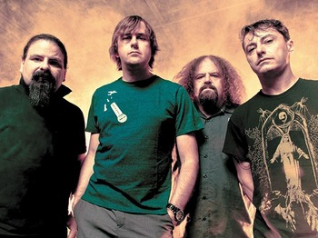 Napalm Death artist photo