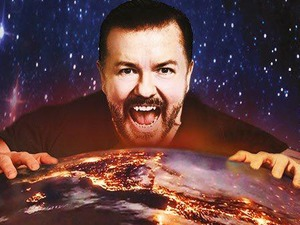 Ricky Gervais artist photo