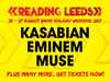 Reading & Leeds Festival 2017 announced Eminem as third headliner, plus many more bands added to roster