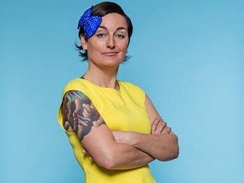 The Laughing Sole Comedy Club: Zoe Lyons, Mrs Barbara Nice (Janice Connolly) picture