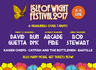 Isle Of Wight Festival 2017 artist photo