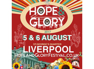 Hope & Glory Festival artist photo