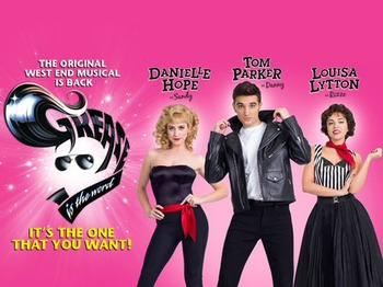 Grease - The Musical (Touring), Tom Parker, Danielle Hope, Louisa Lytton picture
