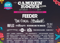 Camden Rocks Festival 2017 - Feeder, The Coral, The Damned, The Rifles, plus many more artist photo