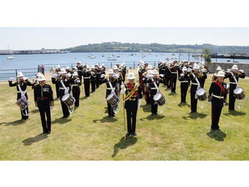Band Of Her Majesty's Royal Marines Plymouth, Mevagissey Male Voice Choir picture