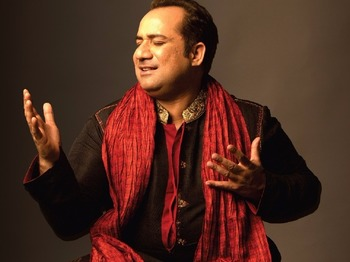 Ustad Rahat Fateh Ali Khan artist photo