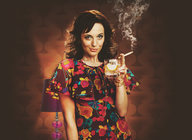 Abigail's Party: Amanda Abbington artist photo